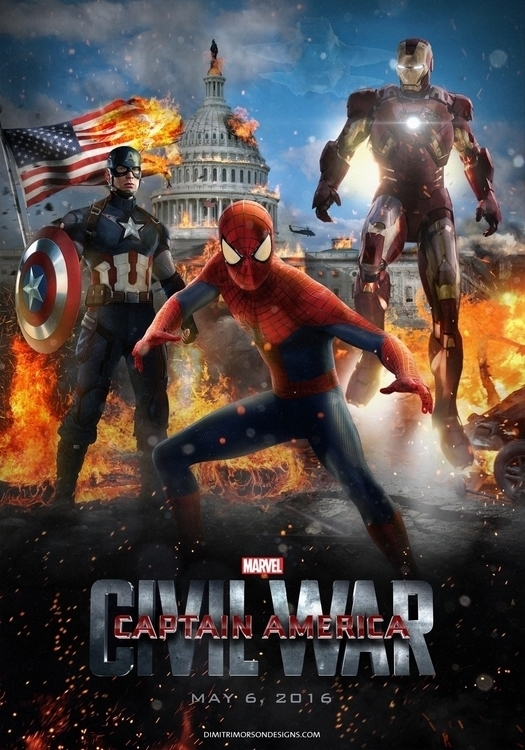 Captain America: Civil War - spiderman - dmorson | ello