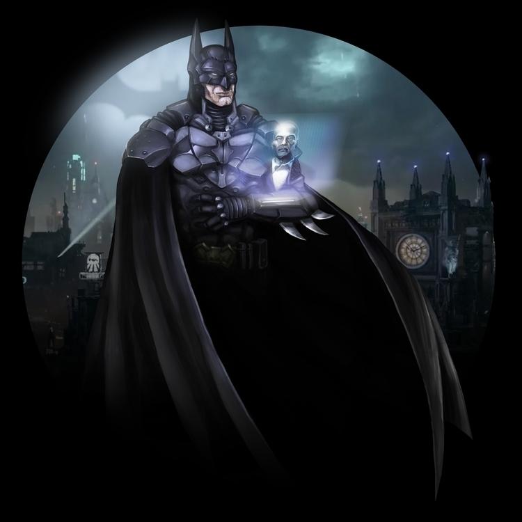 Batman - batman, arkhamknight - lexsingleton | ello