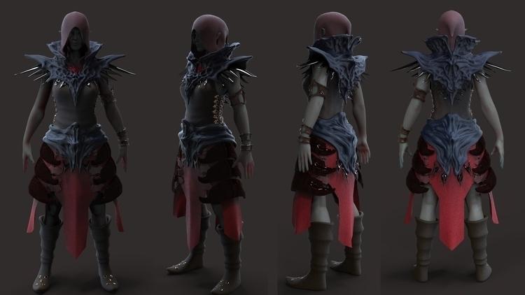 Seza (Character Prototype - characterdesign - kimkiao | ello