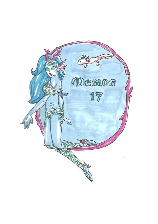 17 Demon - illustration, characterdesign - hotshots2000 | ello