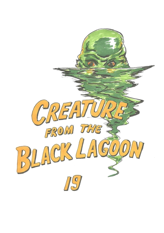 19 Creature Black Lagoon - illustration - hotshots2000 | ello