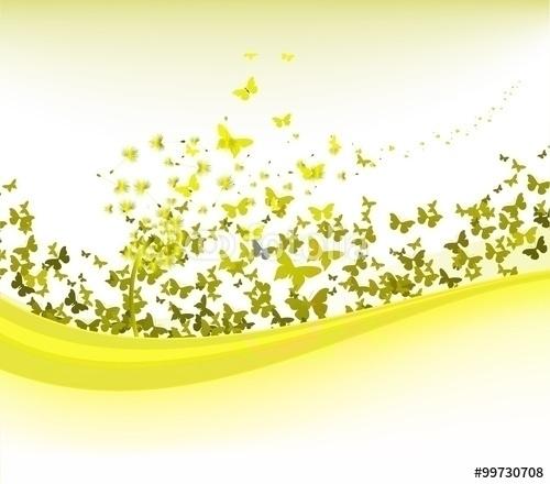 spring dandelion butterflies ba - ngocdai86 | ello