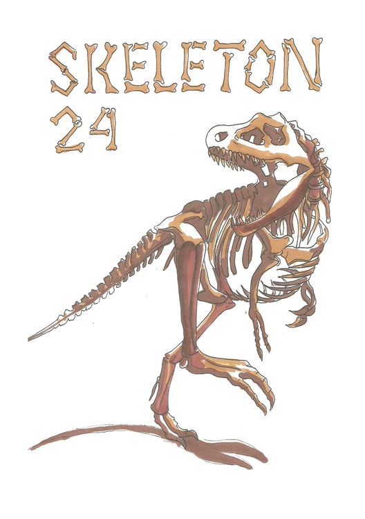 24 Skeleton - illustration, drawing - hotshots2000 | ello