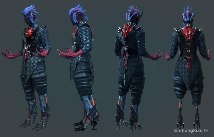 (Character 3D - characterdesign - kimkiao   ello
