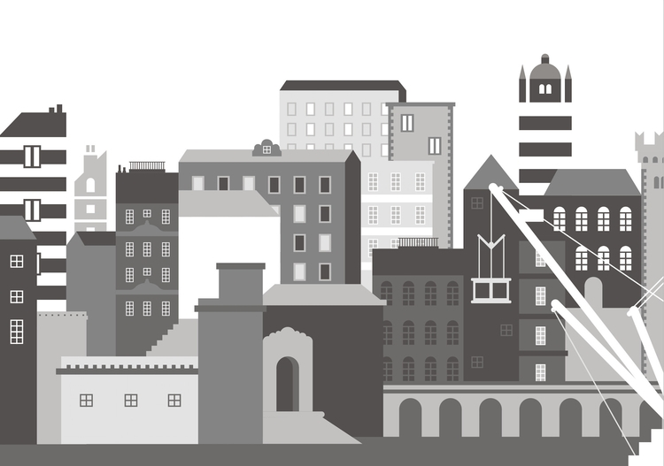 GENOVA - genoa, city, buildings - faustomontanari   ello