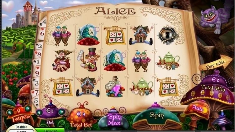 Alice - #slot, gameart, game, gameart - artolgash | ello