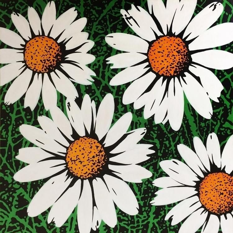 DAISIES ( 80 5 cm) 27/01/2015 - daisies - jandroitu | ello
