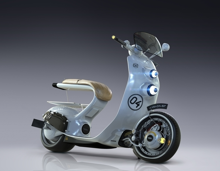 Electric Scooter Concept - transportation - igoq | ello
