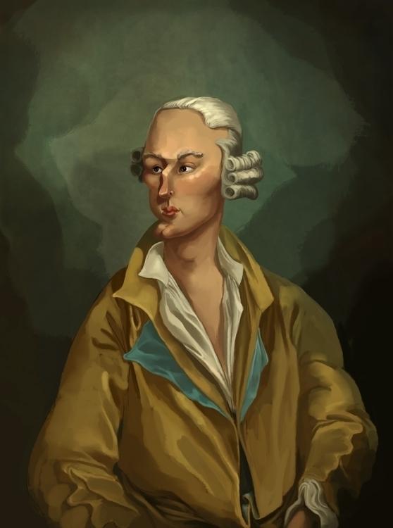 illustration, portrait, france - popularaviation | ello