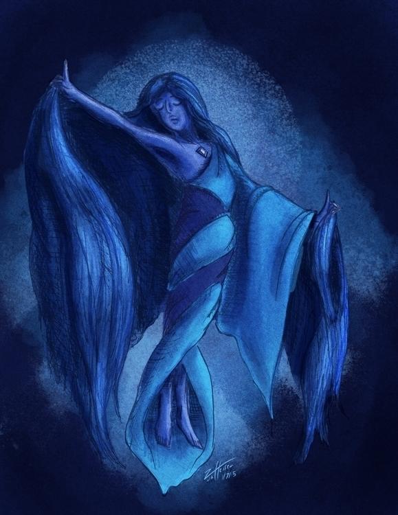 quick illustration Blue Diamond - heiserz | ello