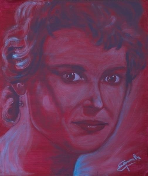Iolanda, acrylic canvas 100x120 - tizianagiammetta | ello