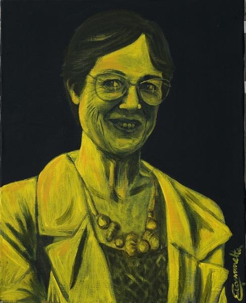 Nene, acrylic canvas 50x70 cm - painting - tizianagiammetta   ello
