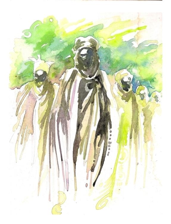 faceless caliphate - painting - sunnyefemena   ello