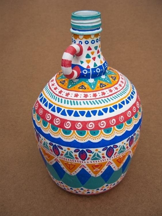 Vase/Lamp Base Jug - southamerica - gingerrred   ello