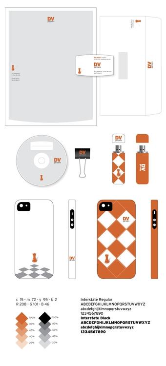 Identity: DV Partners - branding - nsns | ello
