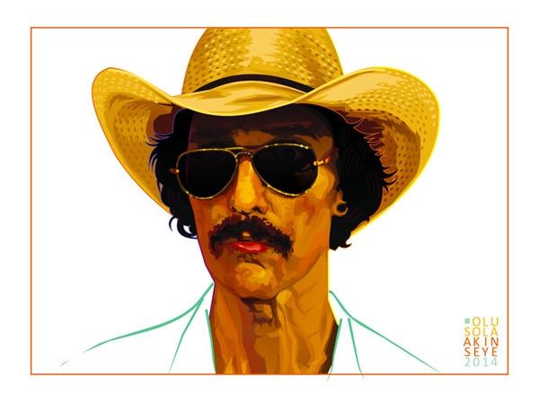 Matthew McConaughey Ron Woodroo - shola-5390 | ello