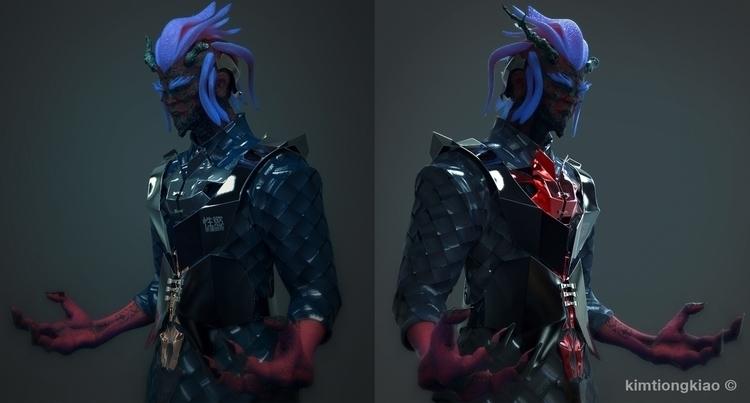 (Recolor - characterdesign, character - kimkiao | ello