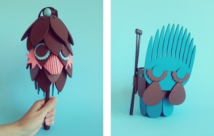 Bubs - Wooden musical toys - characterdesign - ninna-2879 | ello
