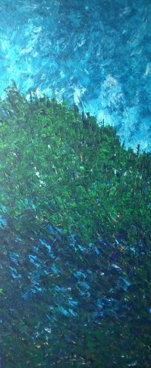 Green Blue Acrylic Canvas 1.6 3 - lucia-2691 | ello