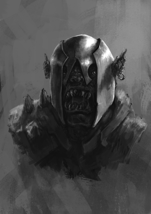 Orc-1 - characterdesign, conceptart - venenose | ello