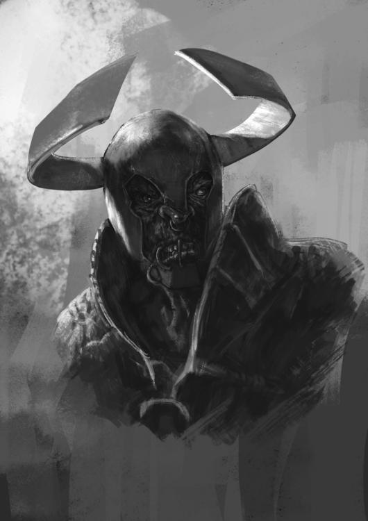 Orc-2 - conceptart, sketch, orc - venenose | ello