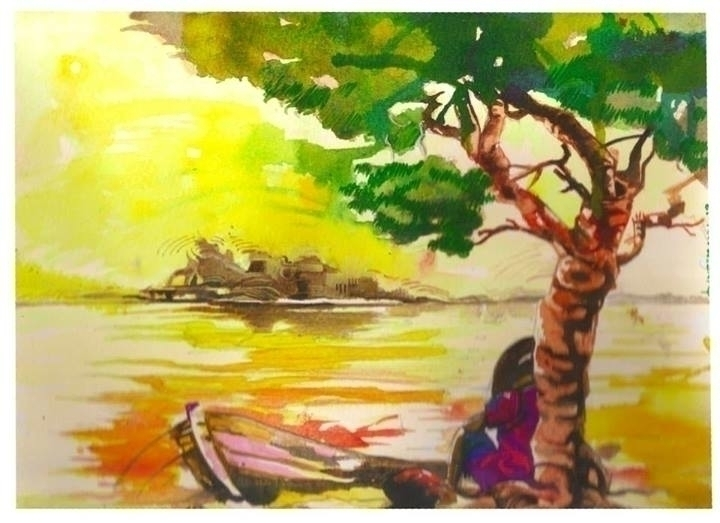 home 2 - painting - sunnyefemena | ello