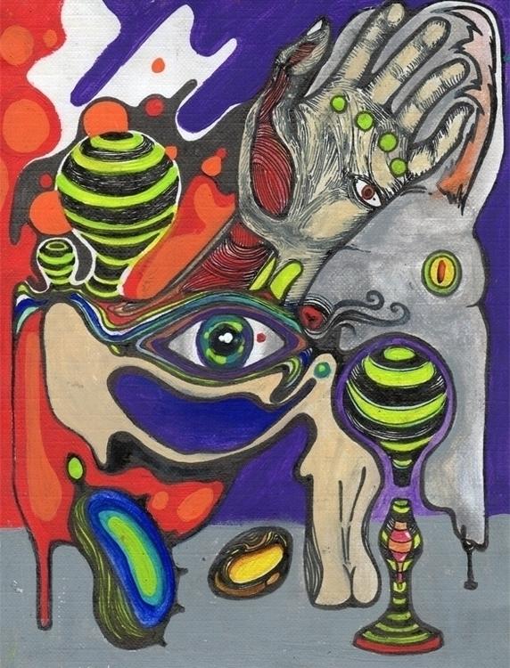 Observador psicodélico - illustration - xochikalli | ello