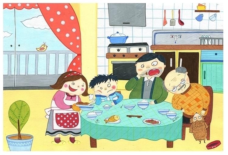 illustration, children'sillustration - eun-1516 | ello