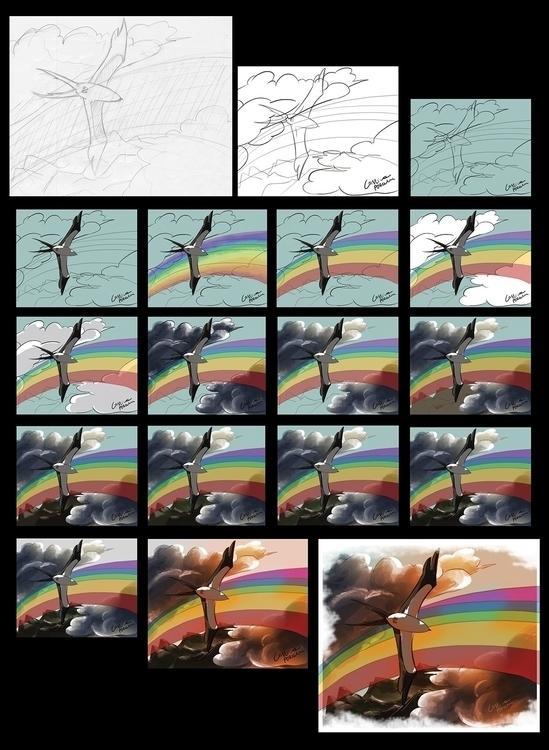 art digital coloring - stages w - cristinaporcelli   ello