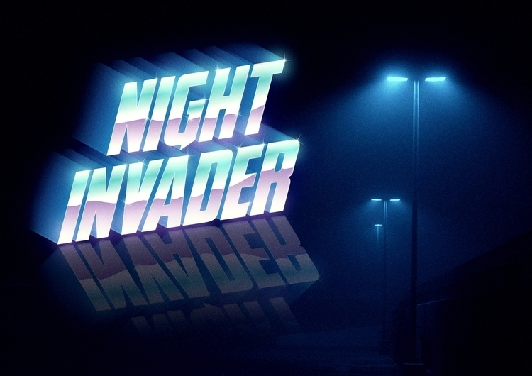 [NIGHT INVADER ARTWORK - invader - kenzoart | ello