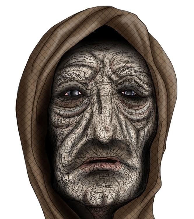 Velho man - characterdesign, character - augustopinho | ello