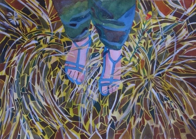 legs, ink, paper, australia, grass - vitacalm | ello