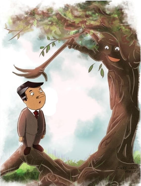 great Magnolia. illustration sh - cristinaporcelli | ello