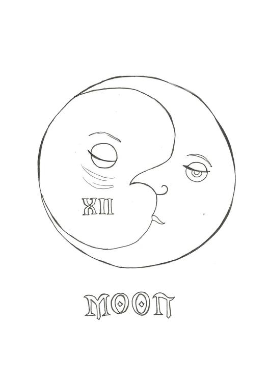 Lineart 12 Moon - characterdesign - hotshots2000 | ello