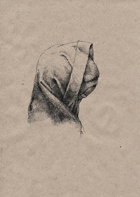 Face 1 - illustration, art, face - aleksklepnev | ello