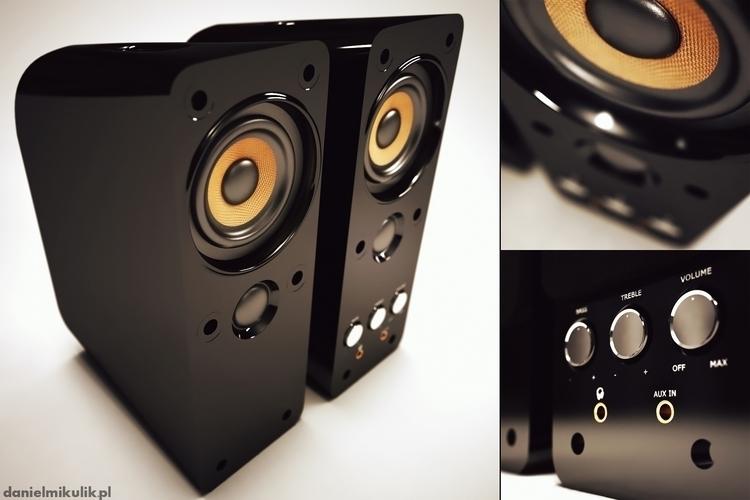 audio, speaker, sound, 3dmodel - cerebrate | ello