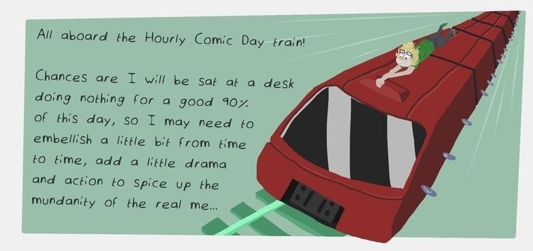 Hourly Comic Day, Part 1/15 - hourlycomicday - odddino | ello