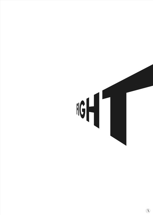 super power - typography, fight - andia_angelidou | ello