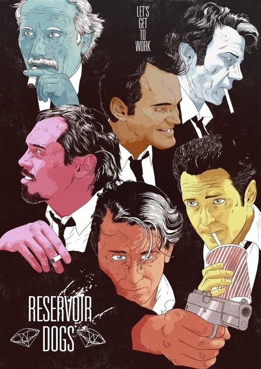 Cult Cinema Sunday // Reservoir - jfenwickill | ello