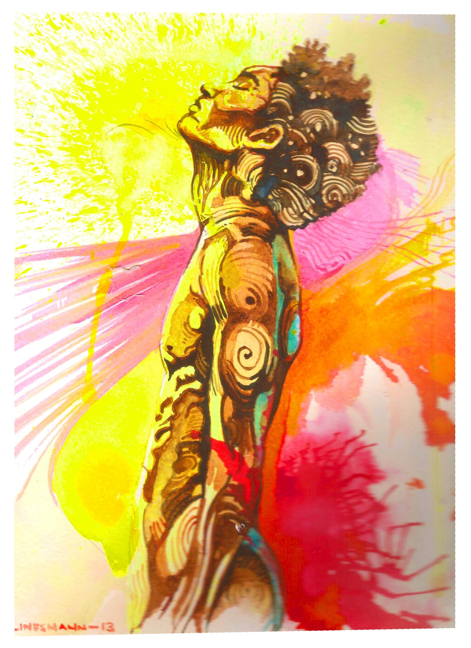 strength - painting - sunnyefemena | ello