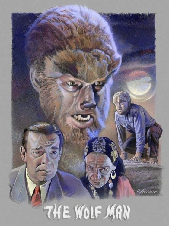 Lon Chaney Jr. Larry Talbot Wol - dwrobins2000 | ello