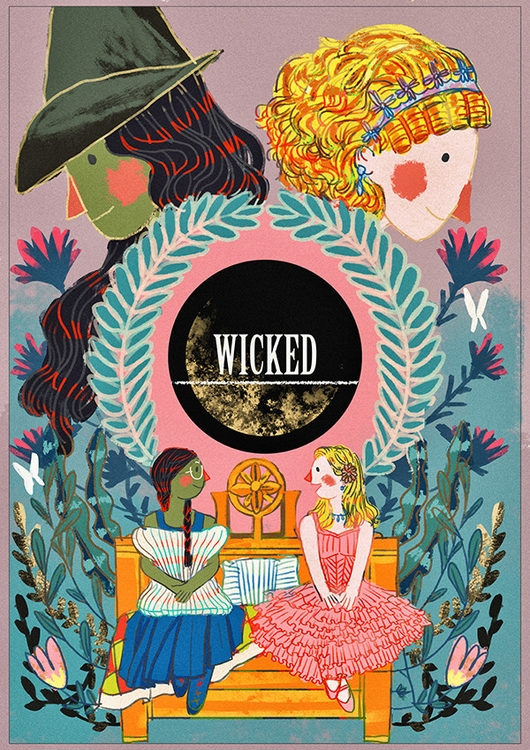WICKED - illustration, painting - soso-6104 | ello