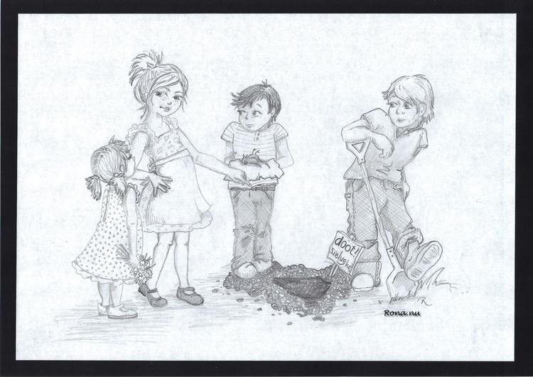 Doot! Sielug, hé - pencil, illustration - rona-5961 | ello