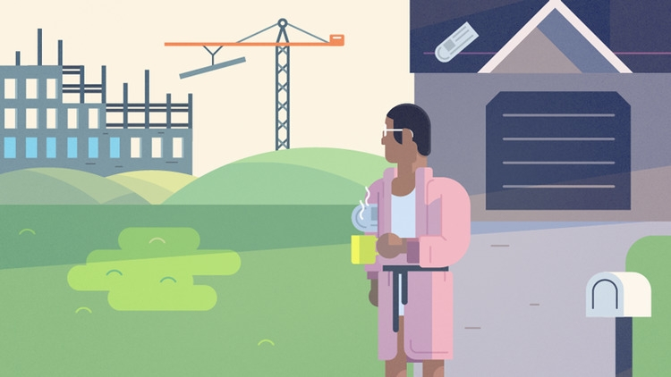 animation urban blight - illustration - austineustice | ello