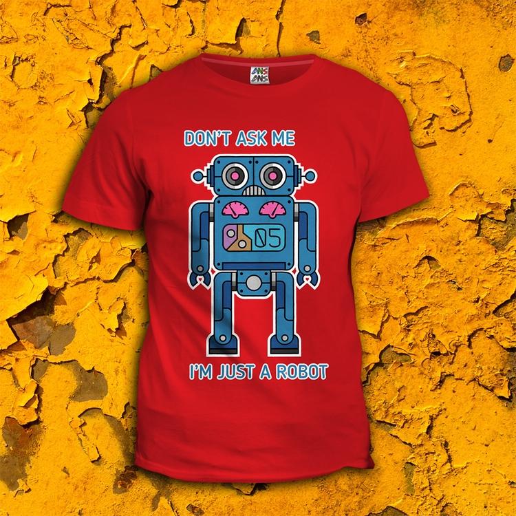 ROBOT 05 - illustration, characterdesign - ans-9428 | ello