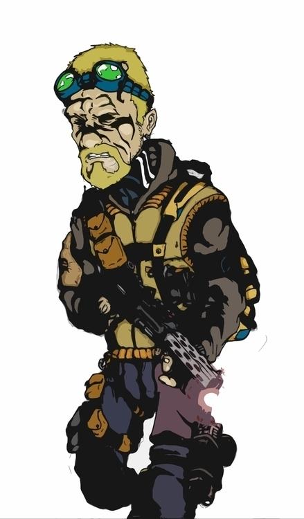 illustration, characterdesign - farsa | ello