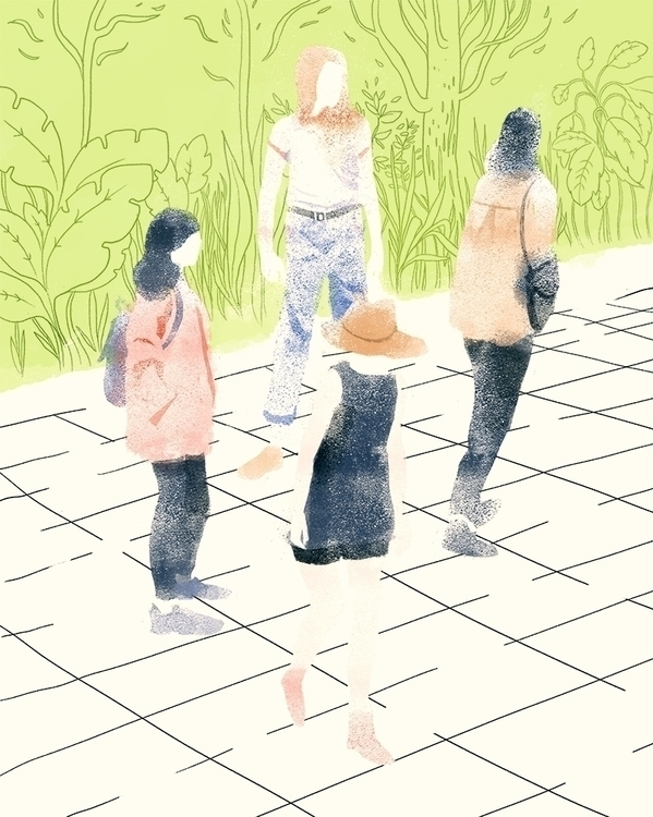 Sisterhood - illustration, fashion - nicolexu-8498 | ello