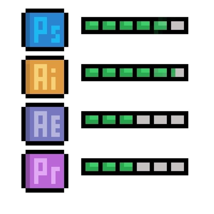 Skill R1 - pixelart, design - hotshots2000   ello
