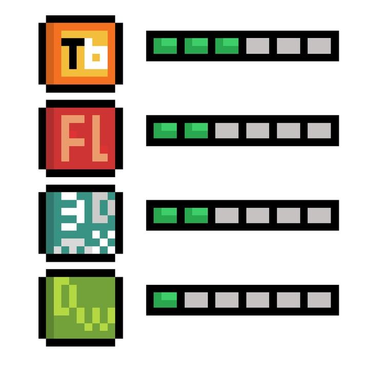 Skill R2 - pixelart, design - hotshots2000   ello