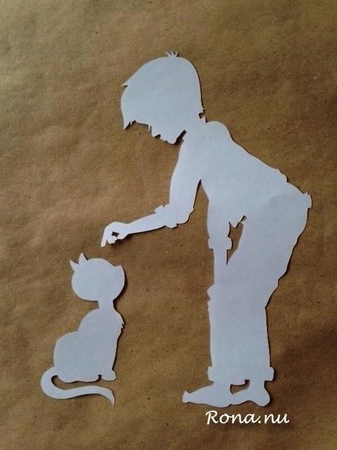 Big - papercut, children'sillustration - rona-5961 | ello